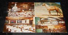 Vintage Postcard Saddle-N-Sirloin Restaurant Santa Rosa Ca