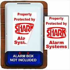 1 x Burglar Alarm Bell Box Sticker-Home,Business Security Solution-Portrait