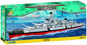Cobi 4819 Battleship Bismarck Bausatz 2030 Teile sofort lieferbar!!!