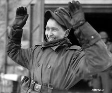 WW2 Photo WWII Young German Soldier Surrenders  World War Two Germany  / 2524