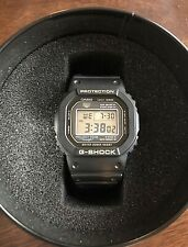 Casio G-Shock 35th Anniversary Limited Edition Watch DW-5035D-1B Pre Owned