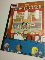 The New Yorker Magazine 11/4/2013 Tea Party, Radio Schwartz [Near Mint issue]