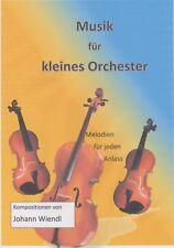 Noten für kleines Orchester (Flöte/Violinen+Klavier) von Johann Wiendl