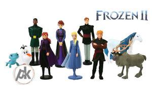 FROZEN 2  Cake Toppers - Party Decorations - 10 Children Disney Figures