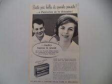 advertising Pubblicità 1960 SAPONE PALMOLIVE