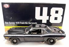 Acme 1/18 Scale - A1806101b dan Gurney 1970 Trans am Barracuda Black