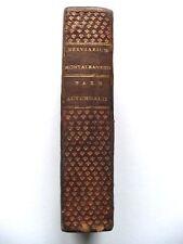 SUPERBE BRÉVIAIRE MONTALBANAIS / BREVIARIUM / PLEIN MAROQUIN DENTELLE / 1770