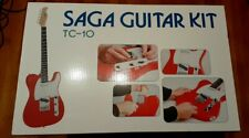New ListingNew Saga Tc-10 Electric Guitar Kit Custom Builder Luthier Diy Assembly Project