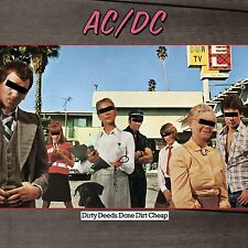AC/DC 'Dirty Deeds Done Dirt Cheap' LP on 180 g Vinyl BRAND NEW & SEALED