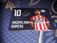 Signierte AK Maximiliano Romeiro PSV EINDHOVEN NEU MEGA RAR