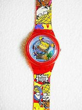 1998 BURGER KING -  THE RUGRATS - FLOATING FLOWER ANGELICA WATCH - MIB MINT