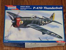 Monogram 1/48 HighTech Rebublic Thunderbolt P47D Bubbletop WWII USAF Fighter NIB