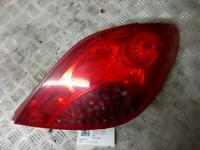 PEUGEOT 207 RIGHT REAR LIGHT Taillight Mk1 Hatchback 06-09