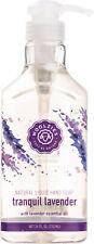 Natural Liquid Hand Soap, Woolzies, 24 oz Lavender