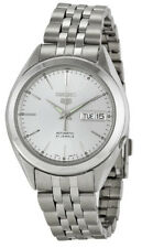 Seiko 5 SNKL15 Men's Stainless Steel Silver Dial Day Date Automatic Watch