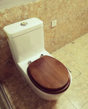 Thick Simple Wooden Bathroom Safety Resin Toilet Cover Seat Nice Decoration