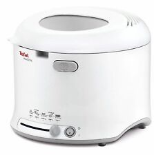 Tefal FF123140 1600 Watts 1.8 Litres 1Kg Maxi Fry Compact Fryer in White New