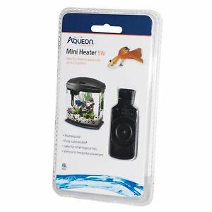 Aqueon Mini Flat Aquarium Heater for Small Tropical Fish 5 Watts NEW