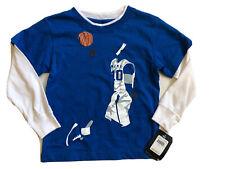 NWT Boys Blue Long Sleeve Shirt Nike Basketball 4