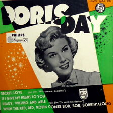 """DORIS DAY OST EP AA.VV. 7"""" SECRET LOVE + READY WILLING AND ABLE +2 VINTAGE 50/60"""