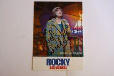 Rocky - Hamburg - Musical Autogrammkarte - Wietske van Tongeren