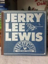 Jerry Lee Lewis (The Killer) - The Sun Years - 12 LP Box Set - Sun 102