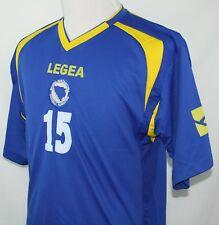 Sejad Salihovic Youth 2Xl Jersey Shirt #15 Legea Bosnia Herzegovina Football