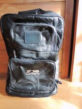 NORFOLK SOUTHERN RAILROAD  ALL LEATHER CARRY ON LUGGAGE NEW RR