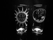 Game of Thrones Inspired- Quote- My Sun and Stars- Moon of My Life- Set of 2