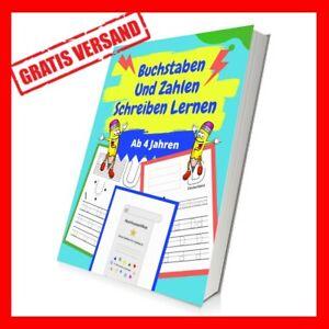 Buchstaben & Zahlen Schreiben Lernen ✅ ABC Kinderbuch Alphabet Lernen ✅