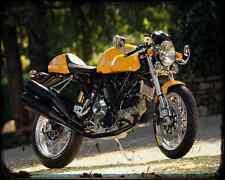 Ducati Sport 1000 S A4 Metal Sign Motorbike Vintage Aged