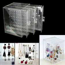 200 Holes Earrings Studs Necklace Jewelry Display Rack Organizer Stand Holder