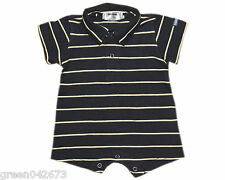 Oshkosh B'gosh Stripes Romper w/ Collar (RWC-02) Infant/Baby Boy Clothes Newborn