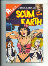 Scum of the Earth #1 991 Bad girl movie adaptation Herschell Lewis Scarce
