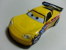 Mattel Disney Pixar Car 2 Jeff Gorvette USA Diecast Toy Car 1:55 Loose In Stock*