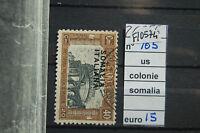 FRANCOBOLLI ITALIA COLONIE SOMALIA USATI N°105 (F10574)