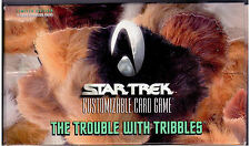 Star Trek CCG Trouble with Tribbles Sealed Box of 30 packs 11 Cards per Pack.