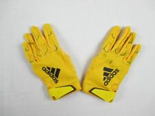 adidas Gloves Unisex's Yellow Receiver Gloves Used Multiple Sizes