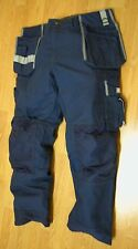 Bjornklader Work Pants Blue Carpenter Jubileum 42/32 Size D112