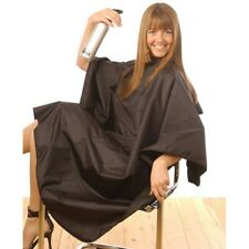 HAIR TOOLS TINT PROOF GOWN BLACK Black Tint-Proof and Waterproof Gown