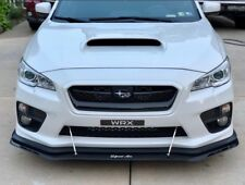 2015-2018+ Subaru WRX/STI Front Lip Splitter V1 (APR Support Rods Not Included)