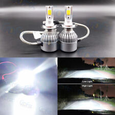NEW H7 6000K White 8000LM CREE LED Headlight Bulbs Kit High Low Beam Fog Light