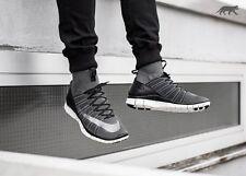 Nike Free Flyknit Mercurial Dark Grey UK8.5 EU43 RRP£159.99