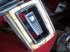 1968 mercury cougar center grille,emblem,xr7,68,1967,67,gte,grill