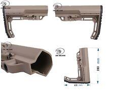 CALCIO SOFTAIR MFT STYLE M4 DE BIG DRAG BD 3668A AIRSOFT M4 STOCK MINIMALIST