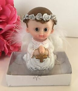 12PC Baptism Communion Favors Angel Keepsakes Recuerdos De Bautiso Christening