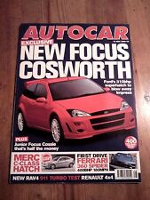 AUTOCAR MAGAZINE 12-JUL-00 - Porsche 911 Turbo, Fiat Coupe Turbo, Honda Prelude