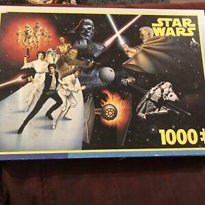 KING 'star Wars' 1000 Piece Jigsaw Puzzle