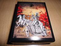 Fiji 10 Dollar 2013 1 Unze Silber Gladiator-Gladiatrix im Etui Auflage 999(K5rot