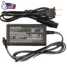 AC Adapter Charger Power Cord For SONY Handycam DCR-SR68 SR88 HDR-PJ50 Camera